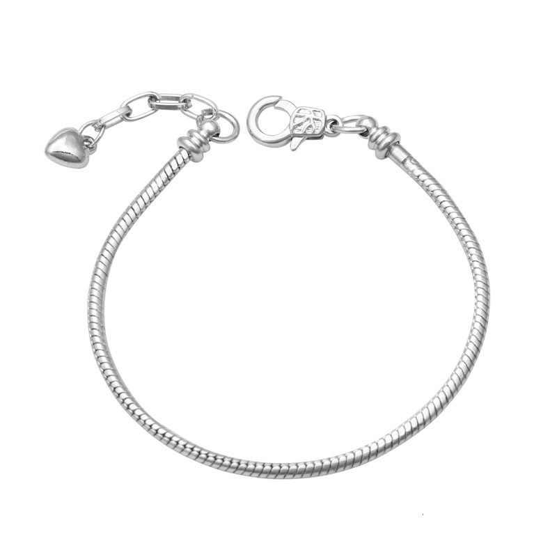 Fits Pandora Stainless Steel Silver 925 Original Bracelet for ...
