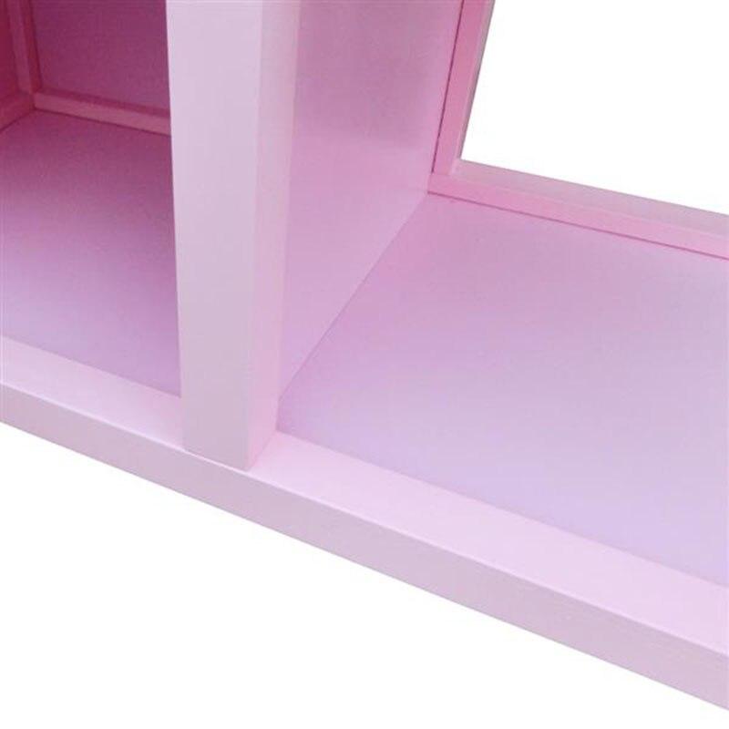 Розовый цвет дети ролевые игры деревянная кухня для девочек приготовления пищи игровой набор розовый моделирование косплей детские рождественские подарки - 5