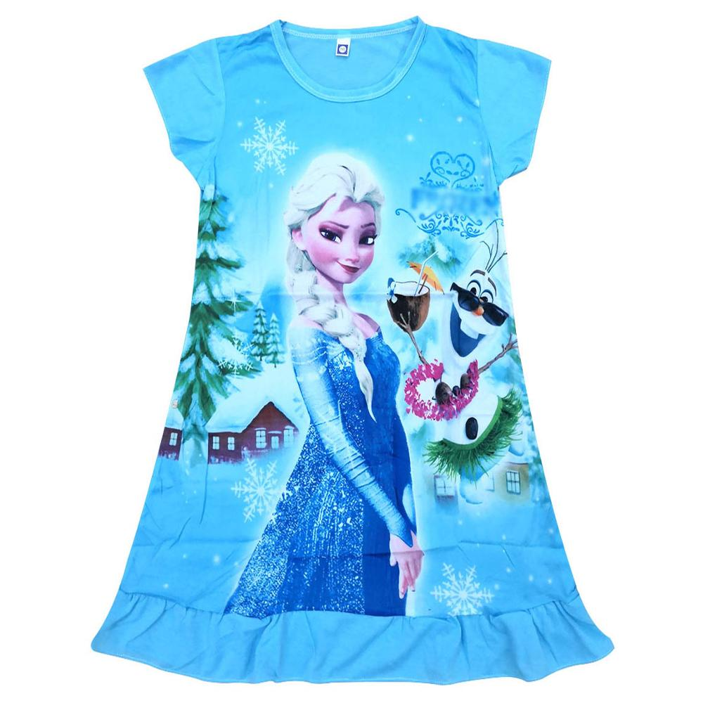 Girls Dress Christmas Elsa Dress Kids Dresses For Girls Vestido Infantil Children Clothing