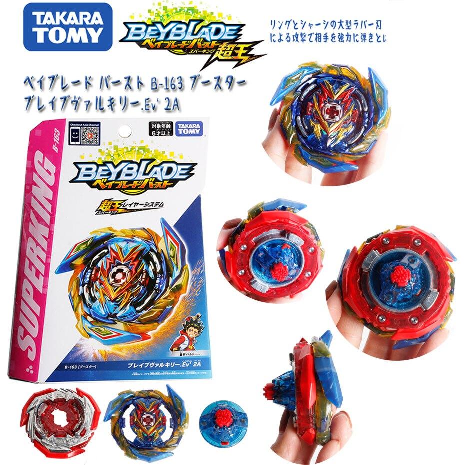 Original takara tomy beyblade explosão super rei B-163 booster valquíria corajosa. Ev 2a psl brinquedos para meninos 6 anos crianças