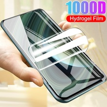 Full Hydrogel Film For Realme X50 X Lite C2 X2 5 3 Pro Screen Protector For OPPO Reno 2Z 3i Ace Q 10X 3 4 Soft Film Not Glass