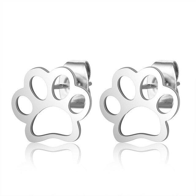 Dog Paw  Earrings  1
