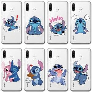 Cute Cartoon przezroczysty Case dla Huawei Honor 30 30s 9X 8X 8A 8S 8C 7A 9 widok 30 10 20 Pro Lite 10i 20i gry 3 8A 9A TPU pokrywa