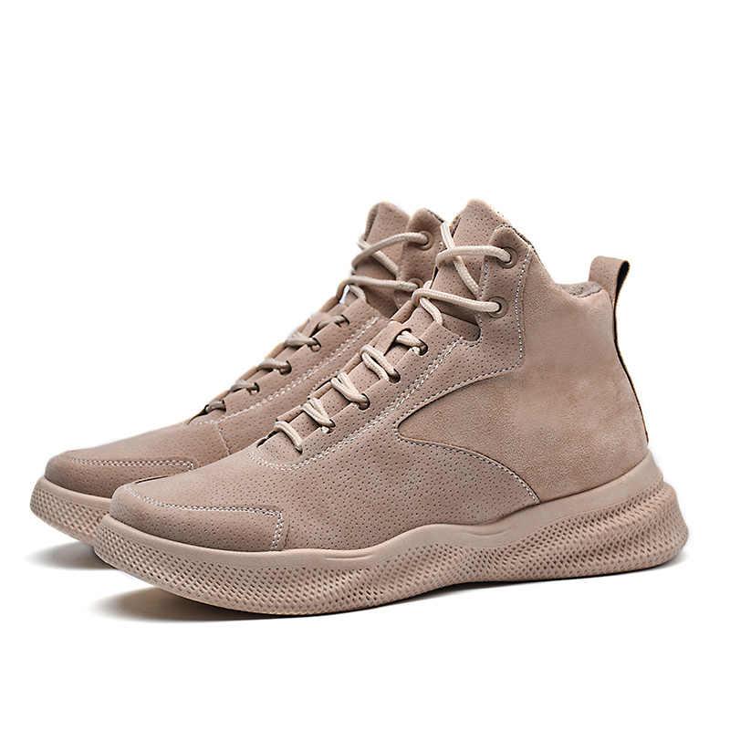 YOUQIJIA yeni takım erkek ayakkabısı kar botları büyük erkek ayakkabı botları erkek ayakkabıları eril çizme Zapatos De Hombre Botas Hombre