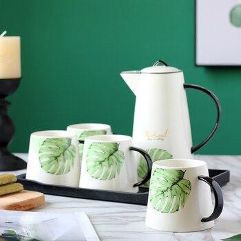 Nodic drinkware coffee and tea sets ceramic teapot kettle Drift Pot cup for  Tea Trays Teaware  WJ021540