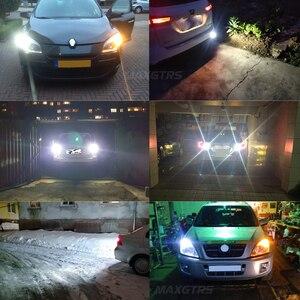 Image 5 - Luz LED de respaldo para coche bombilla de marcha atrás, luz de señal de giro, lámpara de freno, 2 uds., Chip CREE XBD 50W T15 W16W 921 912