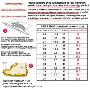 Image 5 - Zapatos brillantes para niños y niñas zapatillas luminosas con suela iluminada, con carga USB, talla 25 37