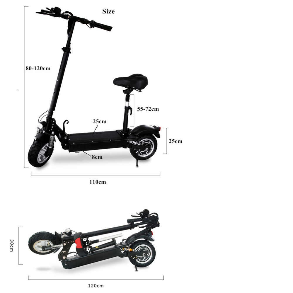 26AH Newest 11inch Off Road wheel 48V/1000W Electric Kick Scooter for Adults powerful e scooter electric electro scooter