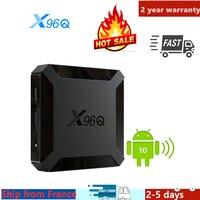 Miglior iptv box x96Q android tv box 10 media player 1G 8G 2G 16G x96 smart ip tv m3u set top box