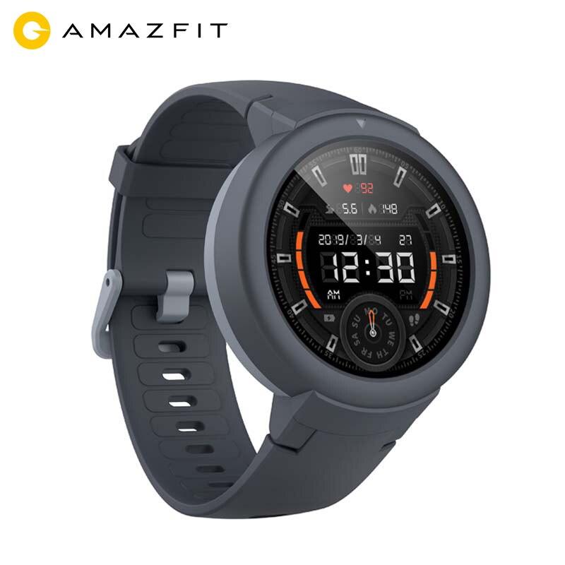 Wersja globalna Amazfit granicy Lite GPS inteligentny zegarek z 13 wyświetlacz AMOLED ekran dla Android iOS IP68 zegarek