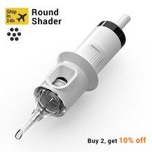 STIGMA Tattoo Needles Revolution Cartridge Round Shader #10 (0.30mm needle) RC1003RL RC1005RLRC1007RL RC1009RL RC1014RL 20pcs
