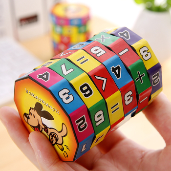 1/3PCS Party Small Gifts Digital Cube Toys Children Learning Toy Slides Puzzle Math Cubes Back to School Christmas Gifts 1