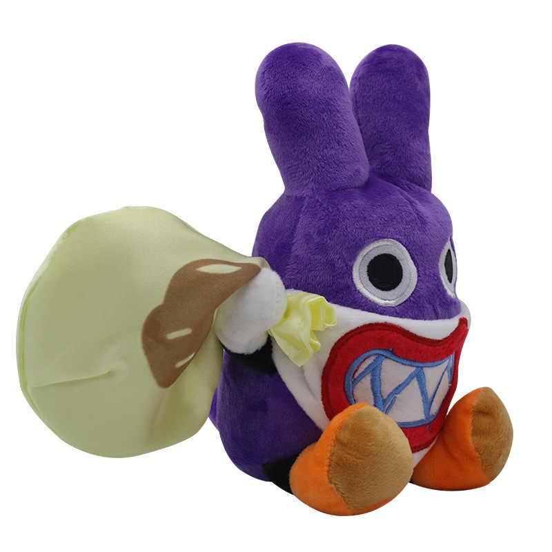 Super Mario Plush Toy Doll Purple Hidden Thief Rabbit Mushroom