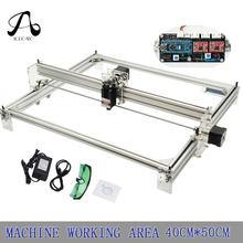 レーザー 10 ワットデスクトップ diy バイオレットレーザー彫刻マシン画像 cnc プリンタ作業領域 40 センチメートル x 50 センチメートル cnc ルータ彫刻