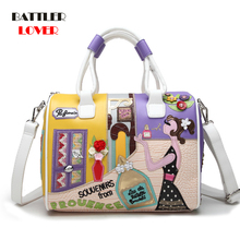 Super Quality Women Handbag Shoulder Boston Bag for Female Italian Sac A Main Borse Candy Color Luxury Totes
