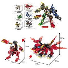 2019 New Ninja Dragon Knight Model Building Blocks Compatible Legoingly Ninjagoines Figures Bricks Toys for Children Boy Friends lis 1173pcs ninja new 10584 dragon s forge diy model building kit blocks gifts toys compatible with lepin