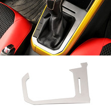 HIGH Flying 1 Piece Inner Accessories Armrest Storage Box Rear Air Vent Cover Trim Frame Decoration Silver Steel for Chevrolet Chevy Equinox 2018 2019