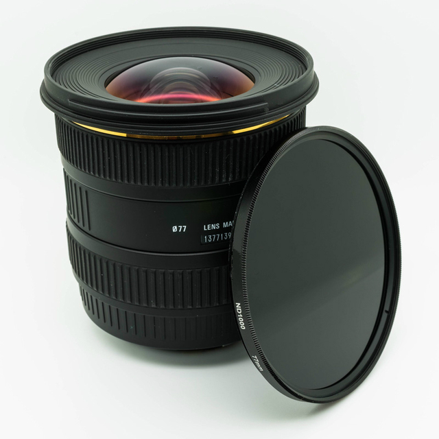 ND32 ND64 ND400 nd1000 nd2000 ND Glass Neutral Density Lens Filter 37/49/52/55/58/62/67/72/77/82 mm for canon nikon SONY dslr 5