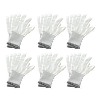 6 Pairs Vinyl antystatyczna folia zaciemniająca okna rękawice samochodowe rękawice robocze barwienia Nylon Carbon Fiber naklejki samochodowe Film narzędzie do instalacji tanie i dobre opinie SPEORX RUIYYT Folia do lamp samochodowych CN (pochodzenie) 20 5cm 10cm