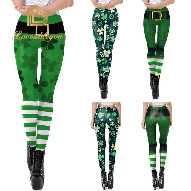 St Patrick's Day Leggings 2