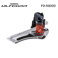 Shimano Ultegra R8000 FD R8000 2x11 speed bike bicycle Front Derailleur Brazed On / clamp 31.8mm 34.9mm