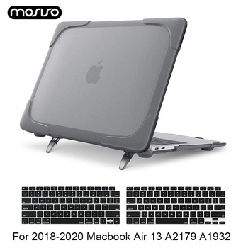 Laptop Plastic Hard Shell Case for MacBook Air 13 Inch 2020 2019 2018 Release A2179 A1932 Retina Touch ID with Keyboard Cover