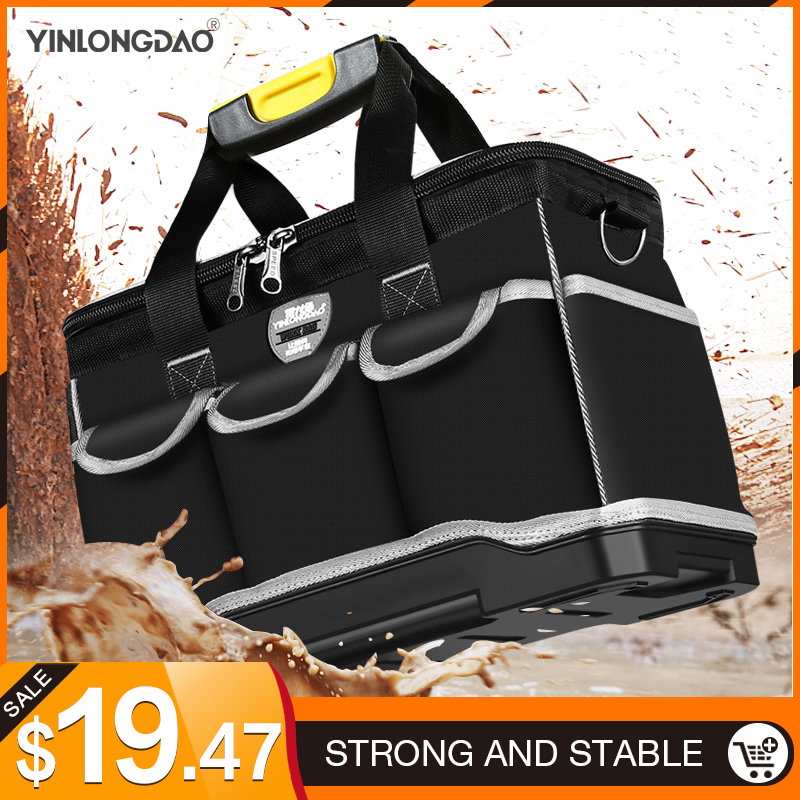 Multifunction Tool Bag Large Capacity Thicken Professional Repair Tools Bag 13/16/ 18/20 Toolkit Bag
