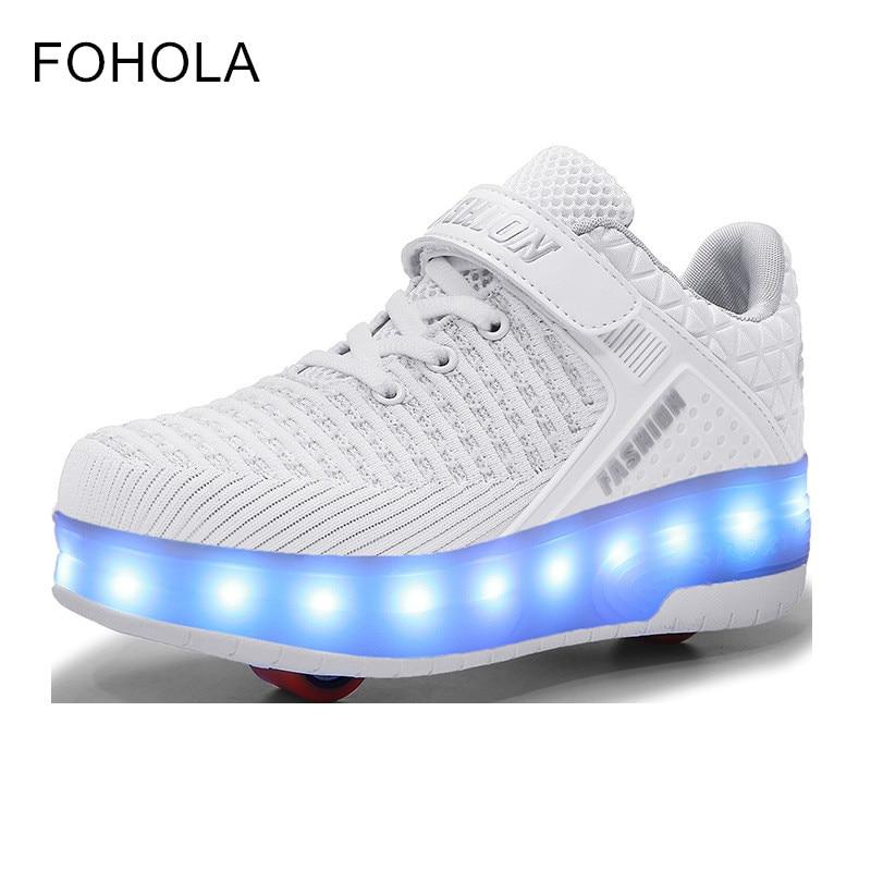 Heely Led Light Roller Skate Shoes