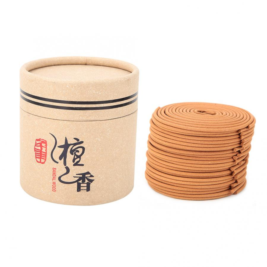 48 plate Pure Incense Sandalwood Coil Home Indoor Incense Coils Anti-mosquito for incense holder(China)