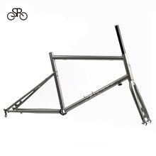 """SILVEROCK horquilla con marco cromado 451, 406, 20 """", 1, 1/8"""", Marco Minivelo, pinza de disco, freno en U, bicicletas de adulto urbanas"""