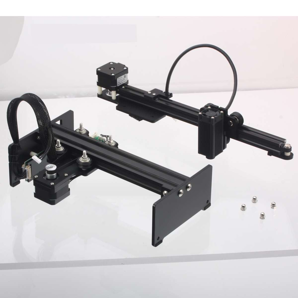 3500mw Wood Router Milling Machine CNC Engraving Machine 3.5W Laser Engraving Machine Carving Wood Router Tools