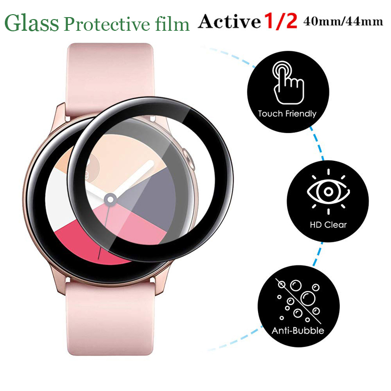 Glass Film For Samsung Galaxy Watch 46mm/42mm Active 2 40mm/44mm Gear S3 Frontier/Sport 3D HD Full Screen Protector Film Active2
