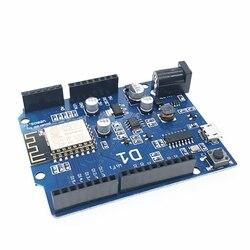 1Pcs ESP-12E WeMos D1 UNO R3 CH340 WiFi Development Board Based ESP8266 Shield Smart Electronic PCB For Arduino Compatible IDE