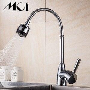 Image 5 - Bất Kỳ Hướng Nào Xoay Vòi Bếp Uống Nước Nóng Phối Torneira Cozinha Tay Cầm Đơn Tap 360 Xoay Hiện Đại Vòi MCI