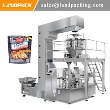 Ciasteczka ciastka predefiniowanych etui na zamek błyskawiczny napełniania i maszyna pakująca automatycznego ważenia tanie tanio Land pack LD-8200 Stojak tabeli Elektryczne