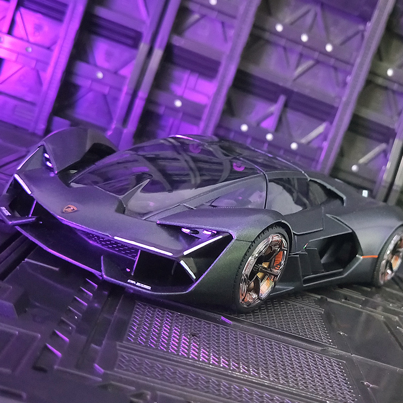 Bburago 1:24 Lamborghini Terzo Millennio 3000 концепт автомобиль сплав модель автомобиля собирать подарки игрушка|Игрушечный транспорт|   | АлиЭкспресс