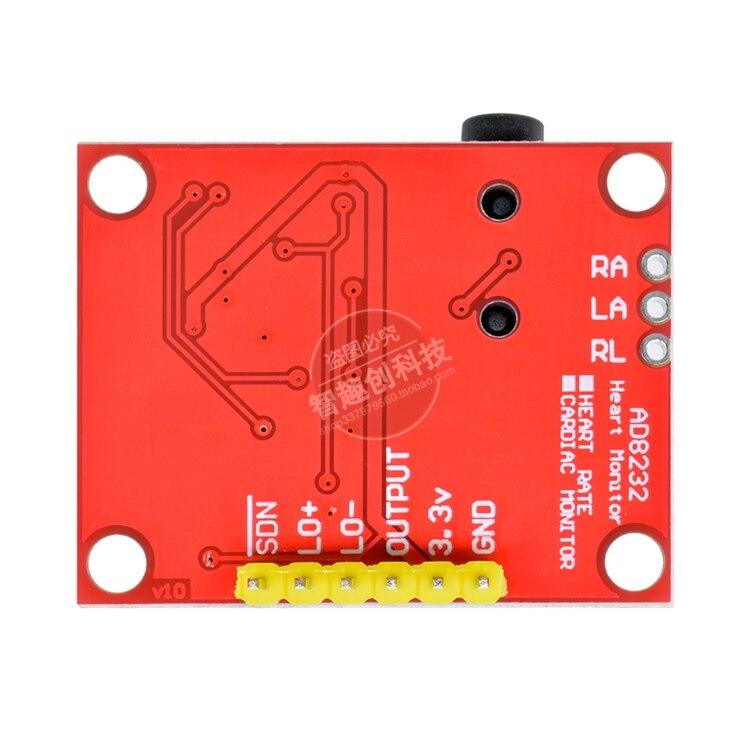 AD8232 Module ECG Measurement Pulse Heart Rate Monitor ECG Sensor Module
