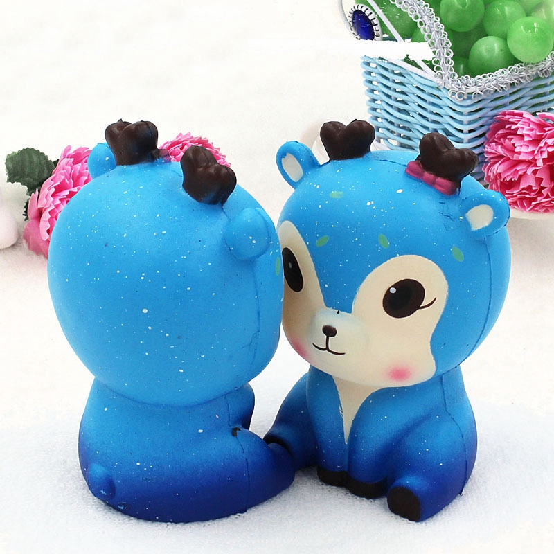 Kids And Adults Kawaii Star Fawn Slow Rising Squishies Charms Squishy Squeeze Toys Random Color