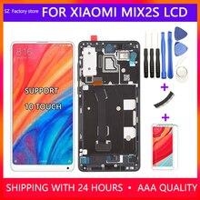 5.99 インチ交換シャオ mi mi mi × 2 S の液晶ディスプレイ & タッチスクリーンデジタイザフレームアセンブリセットのための mi mi x2s