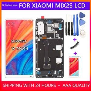 Image 1 - Xiao mi mi x 2s lcd 디스플레이 및 터치 스크린 디지타이저 프레임 어셈블리 용 5.99 인치 스크린 교체 mi mi x2s 용