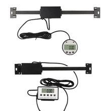 Escala de leitura digital remota magnética 150mm 200mm 300mm escala linear digital de display lcd externo dro