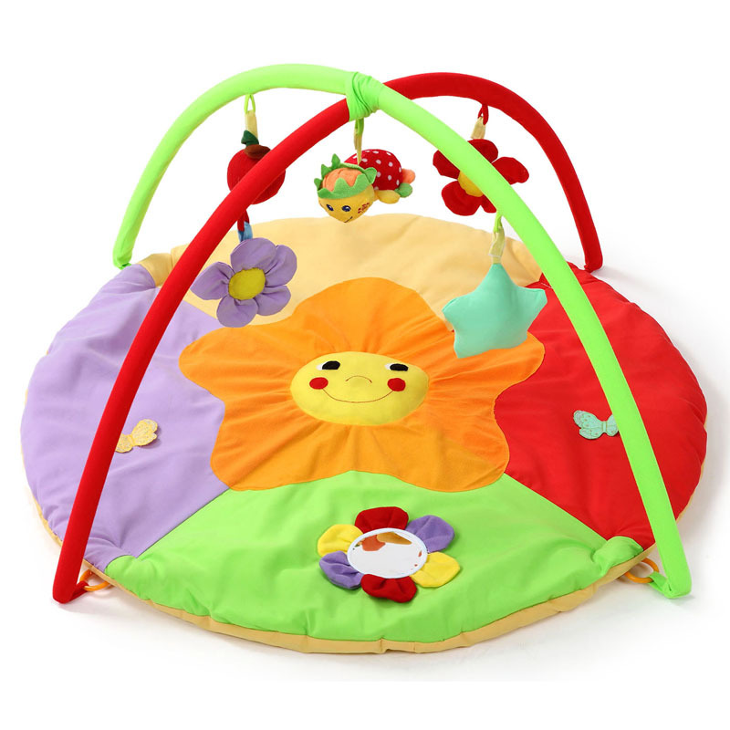 Baby Crawling Mat Game Blanket Baby Toys Fitness Rack Educational Toys Crawling Mat Kids Toys Gifts Boys And Girls 0-24 Months