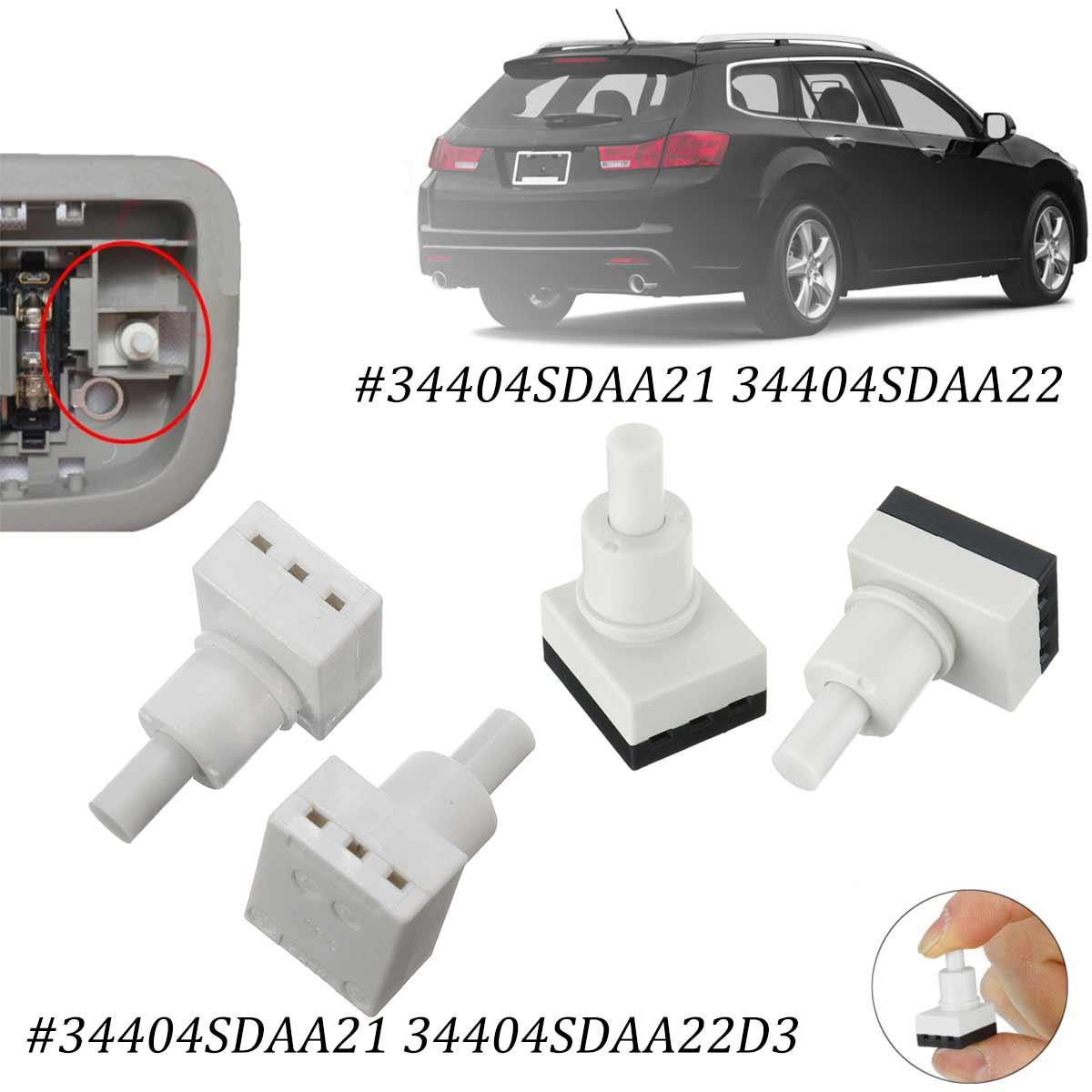 Pair Interior Dome Light Lamp Switch Sensor Fit For Honda For Accord For CR-V Pilot For Odyssey Pilot 34404SDAA21 34404SDAA22