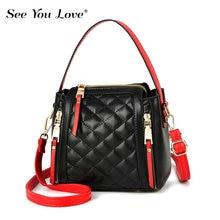 New Luxury Ladies Crossbody Bags For Women 2019 Brand Soft Casual Flap Zipper Plaid Leather Messenger Shoulder Bag Woman Handbag все цены