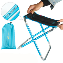 Outdoor large folding chair portable full aluminum fishing stool barbecue tools
