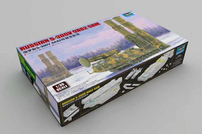 Trumpeter 1/35 Russian S-300V 9A82 SAM #09518 New Release