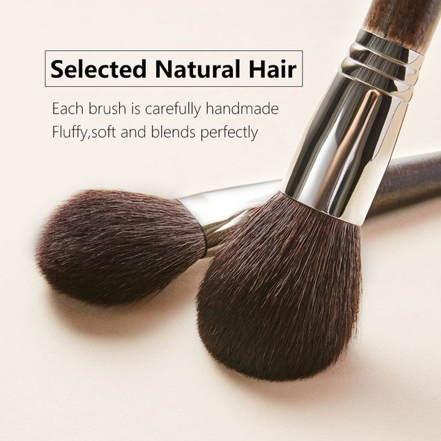 OVW Natural Goat Hair Eyeshadow Makeup Brushes Set nabor kistey Crease Blending Highlighting Brush pinceaux maquillage kit 2