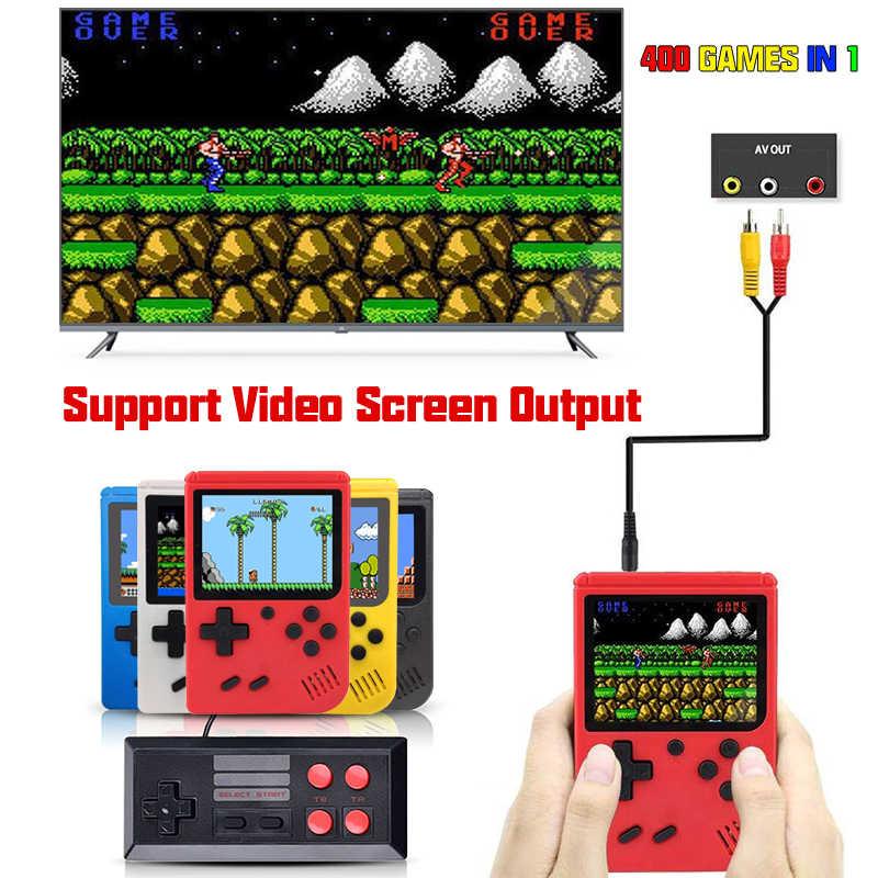 400 Games Mini Draagbare Retro Video Console Handheld Game Advance Spelers Jongen 8 Bit Ingebouwde Gameboy 3.0 Inch kleur Lcd-scherm