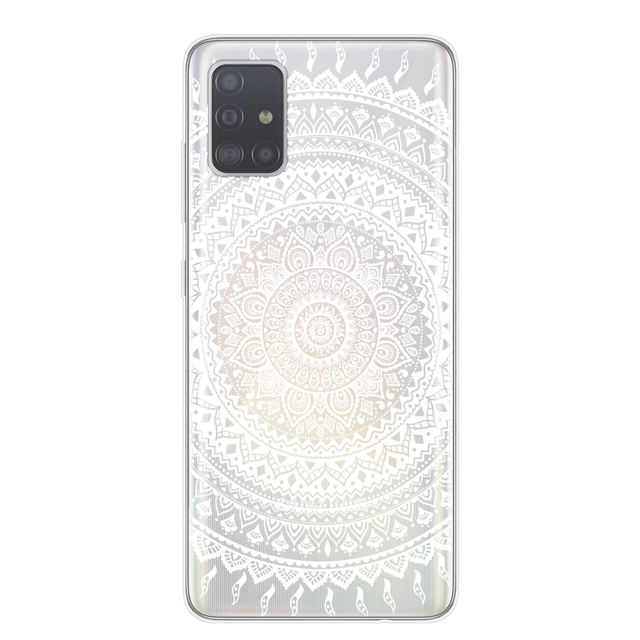 Retro Mandala Flower Phone Case For Samsung A10 A20 A30 A40 A50 A70 A51 A71 S20 Plus Ultra Back Cover Soft TPU Dreamcatcher Case