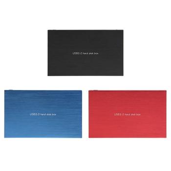 USB 3.0 to SATA Mobile Enclosure Magnesium Aluminum Alloy 2.5 inch HDD SSD External Case Hard Disk Box for Desktop Laptop